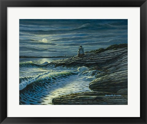 Framed Moonshadows Print