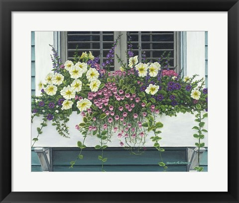 Framed Nantucket Bloom Print