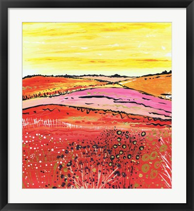 Framed Country Summer Print