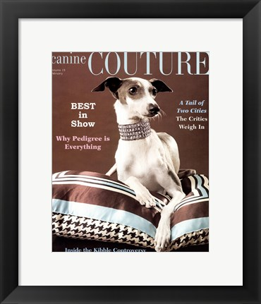 Framed Couture - Best In Show Print