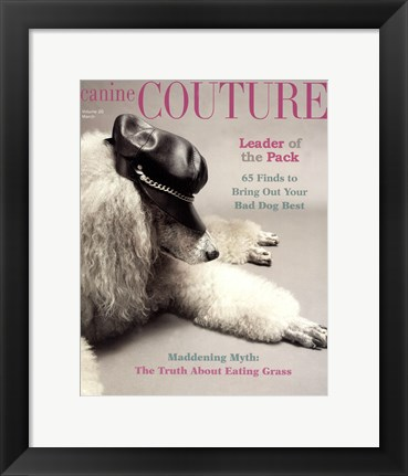 Framed Couture - Leader of the Pack Print