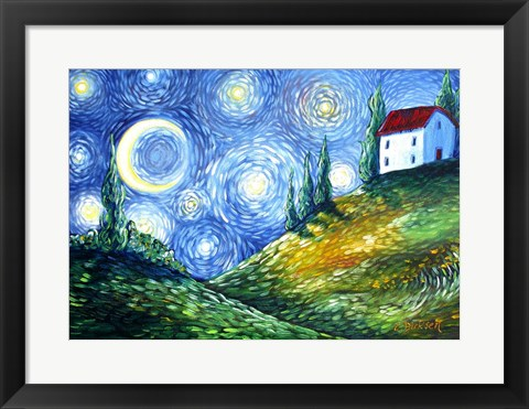 Framed Look to the Stars Print