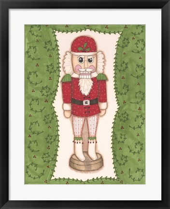 Framed Nutcracker II Print