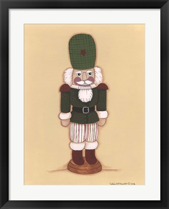 Framed Nutcracker III Print