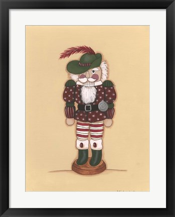 Framed Nutcracker V Print