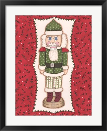 Framed Nutcracker VIII Print