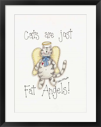 Framed Fat Angels Print