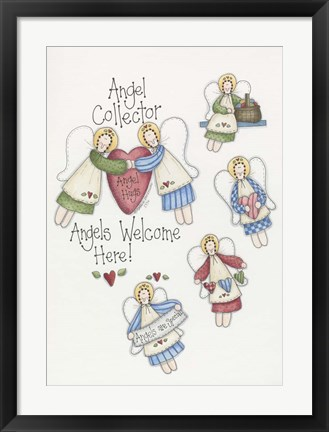 Framed Angels Are Special Print