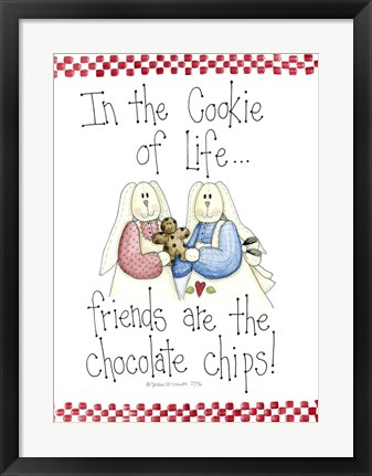 Framed In The Cookie Of Life... Print