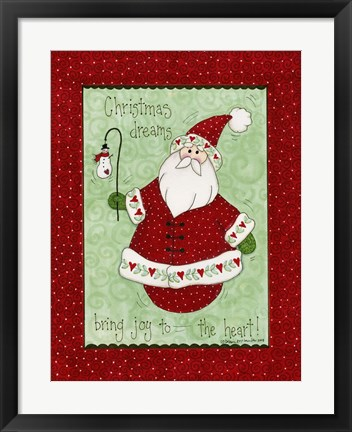 Framed Christmas Dreams Print