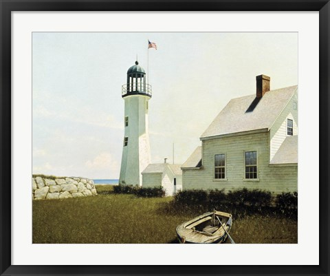 Framed Point Lookout Print