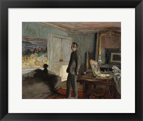 Framed Study for a Portrait of Pierre Bonnard c. 1930 Print