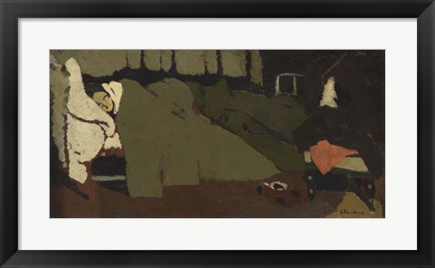 Framed Sleep, 1891 Print