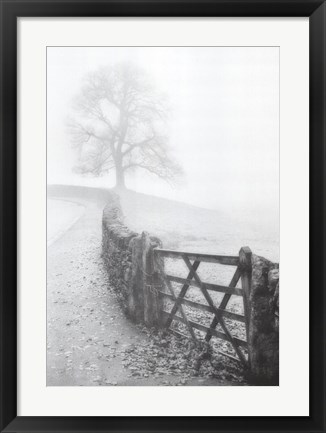 Framed Cumbria Mist Print