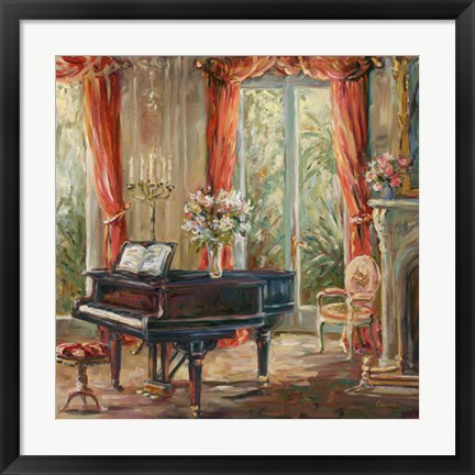 Framed Music Room I Print