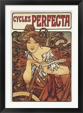 Framed Cycles Perfecta Print