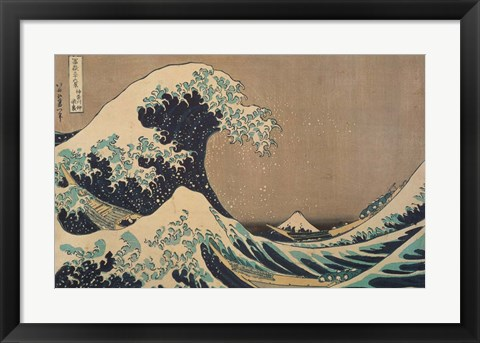 Framed Wave Print