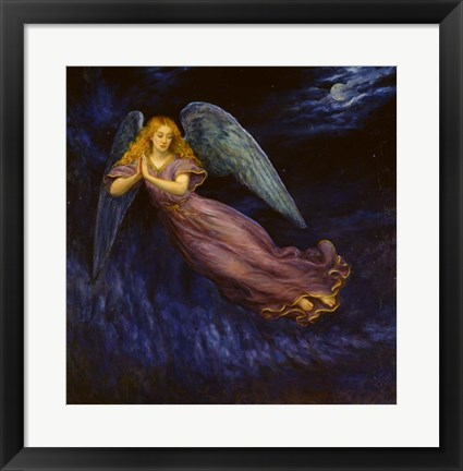 Framed Good Night Angel Print