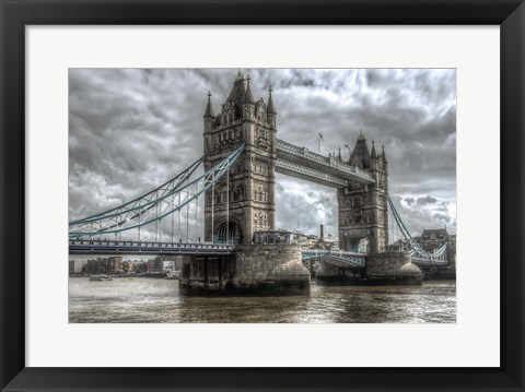 Framed London Bridge Print