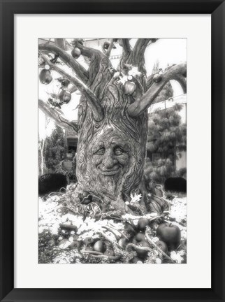 Framed Magical Tree Print