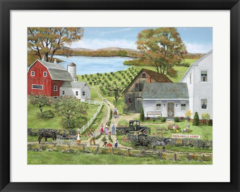Framed Apple Sale Print