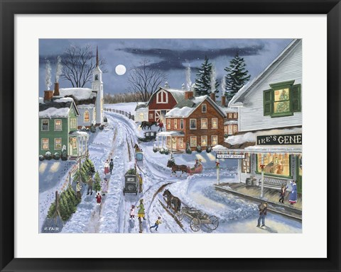 Framed Ikes General Store Print