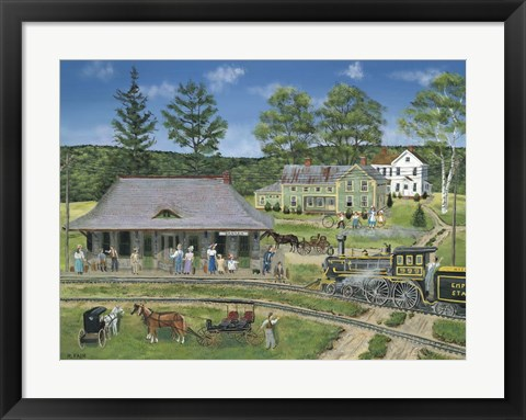 Framed Canaan Station Print