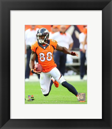 Framed Demaryius Thomas 2015 Action Print