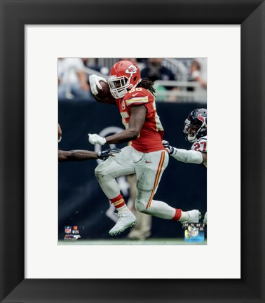 Framed Jamaal Charles 2015 Action Print