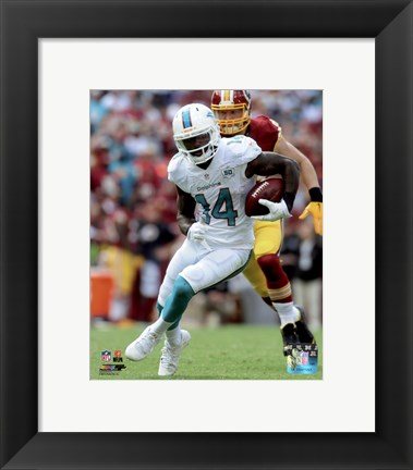 Framed Jarvis Landry 2015 Action Print