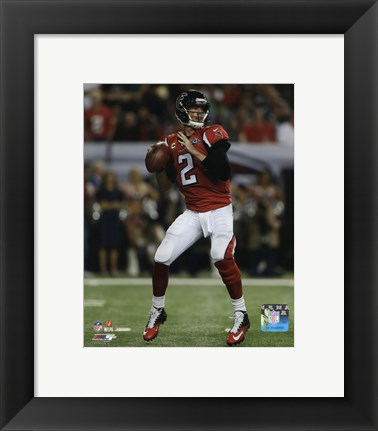 Framed Matt Ryan 2015 Action Print