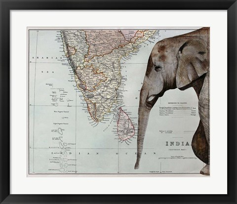 Framed Passage To India Print