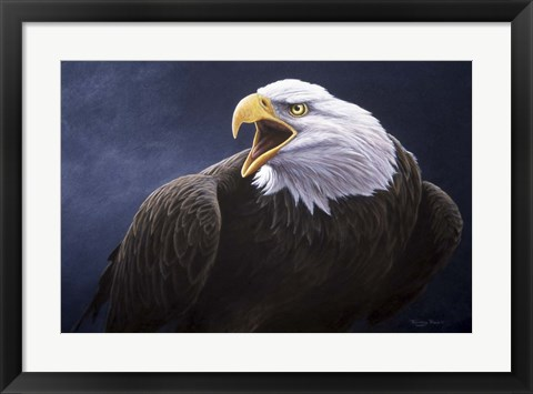 Framed Cry Of The Eagle Print