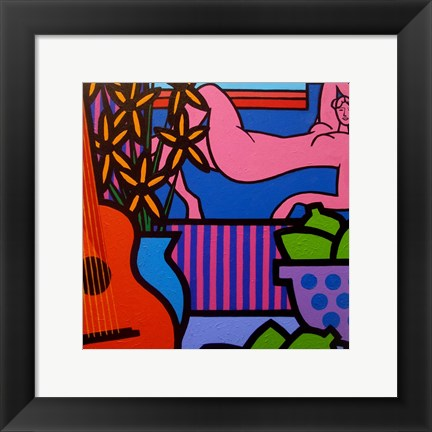 Framed Still Life With Matisse 1 Print