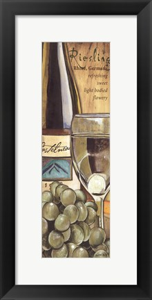 Framed Riesling Print