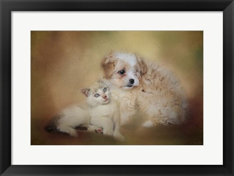 Framed Best Friends Print