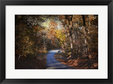 Framed Autumn Stage Print