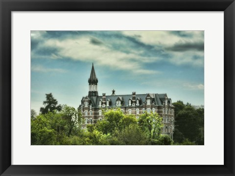 Framed Jubilee Hall At Fisk University Nasvhille Tennessee Print