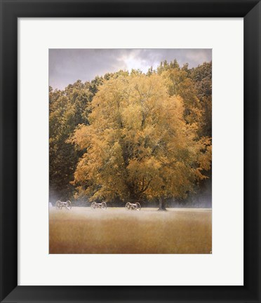 Framed Morning On The Battlefield Print