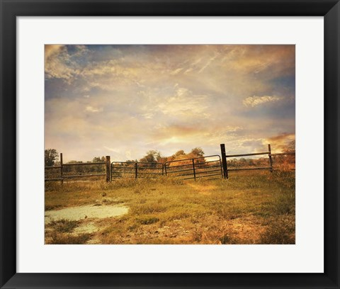 Framed Place Of Peace Print