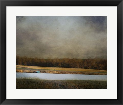 Framed Placid Moment Print
