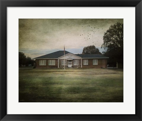 Framed Schools Out Print