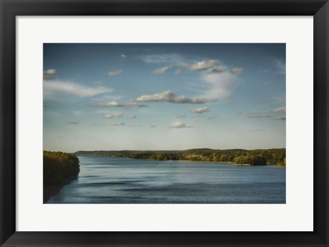 Framed Tennessee River Print