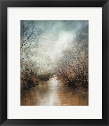 Framed Whisper Of Winter Print