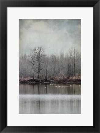 Framed Winter Solitude Print