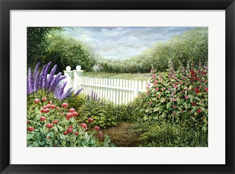 Framed Summer Splendour Print