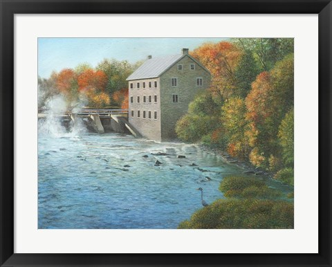 Framed Old Mill Manotick Ontario Print