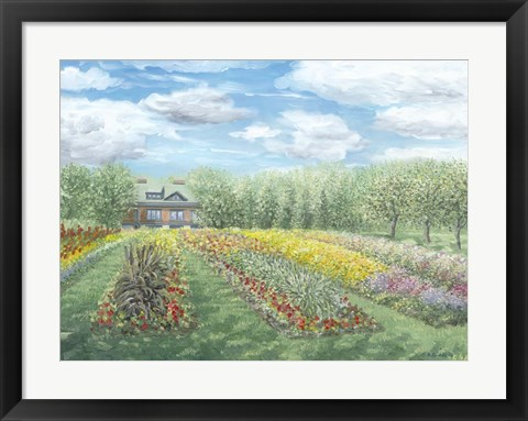 Framed Experimental Farms Ottawa Print