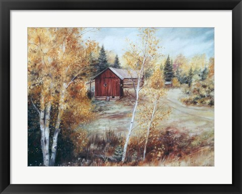 Framed Autumn Colors Quadville On Print