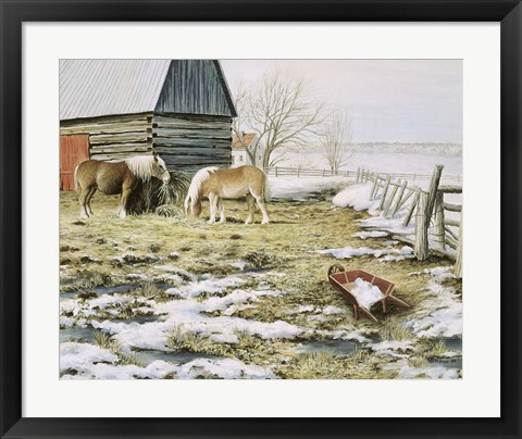 Framed Winter Day Print